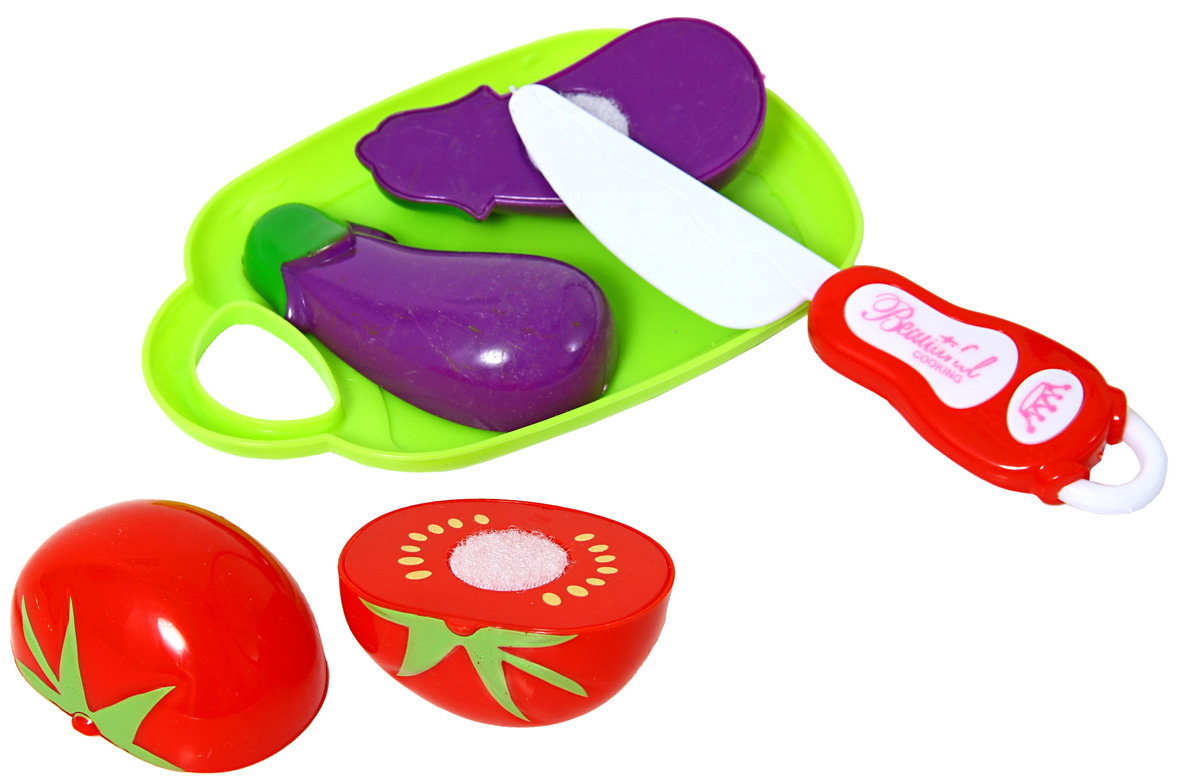 Купить Игровой набор, Овощи для резки, 1шт., Amico 50334, Китай, Мультиколор