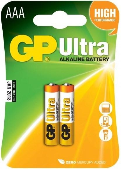 Элемент питания GP 24A-BC2Ultra/GP24AU-CR2Ultra ААА 2 шт