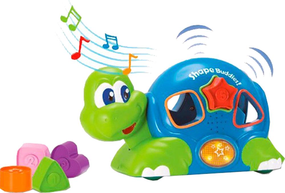 Сортеры для малышей Гулливер Черепашка музыкальная игрушка в виде черепашки с кубиками черепашка умняшка с кубиками