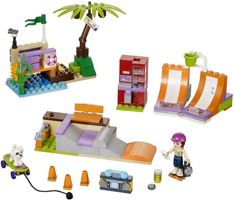 LEGO LEGO Friends Скейт-парк (41099)