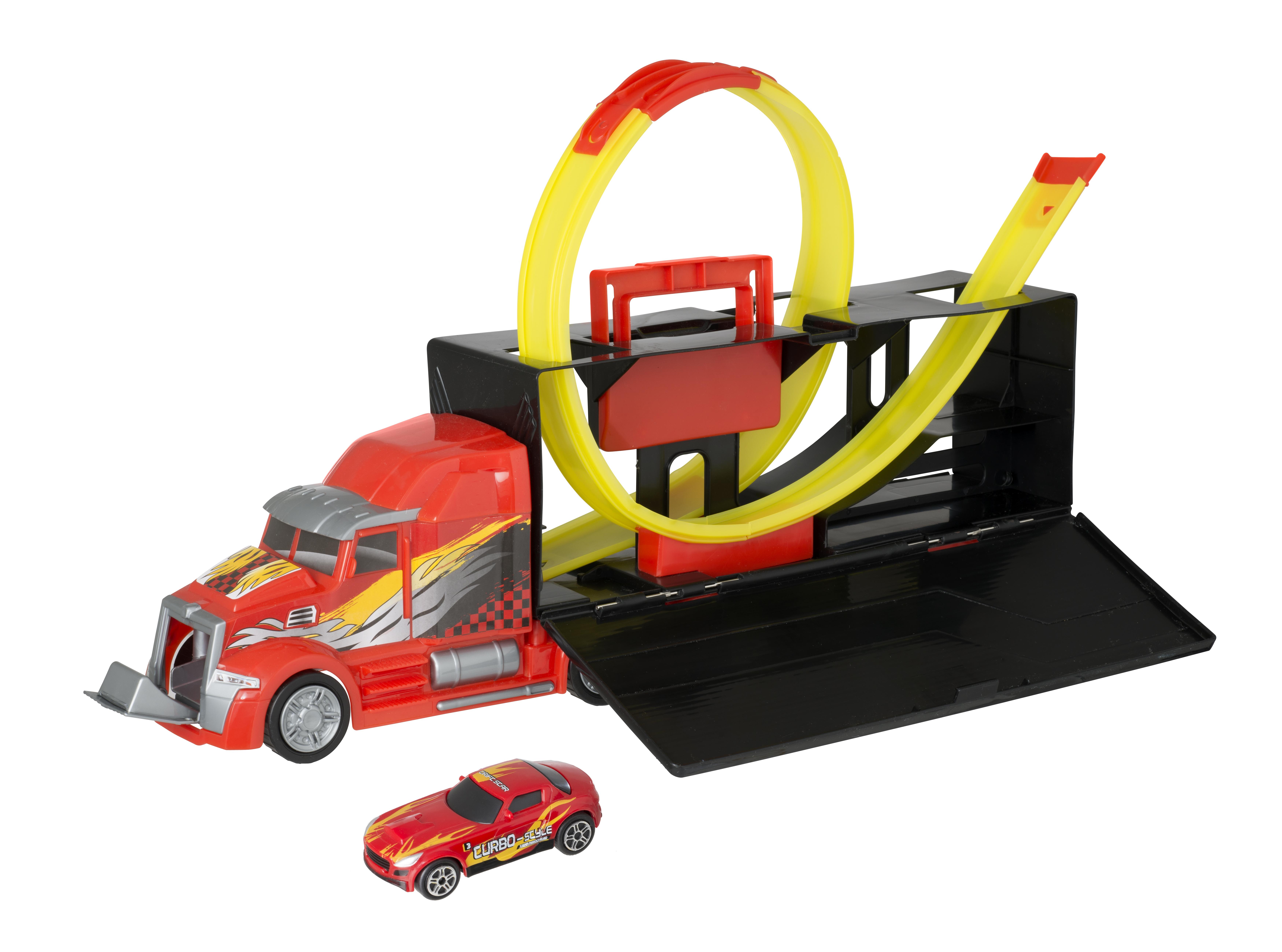Детские треки и авторалли Teamsterz Трек-автотранспортер цена
