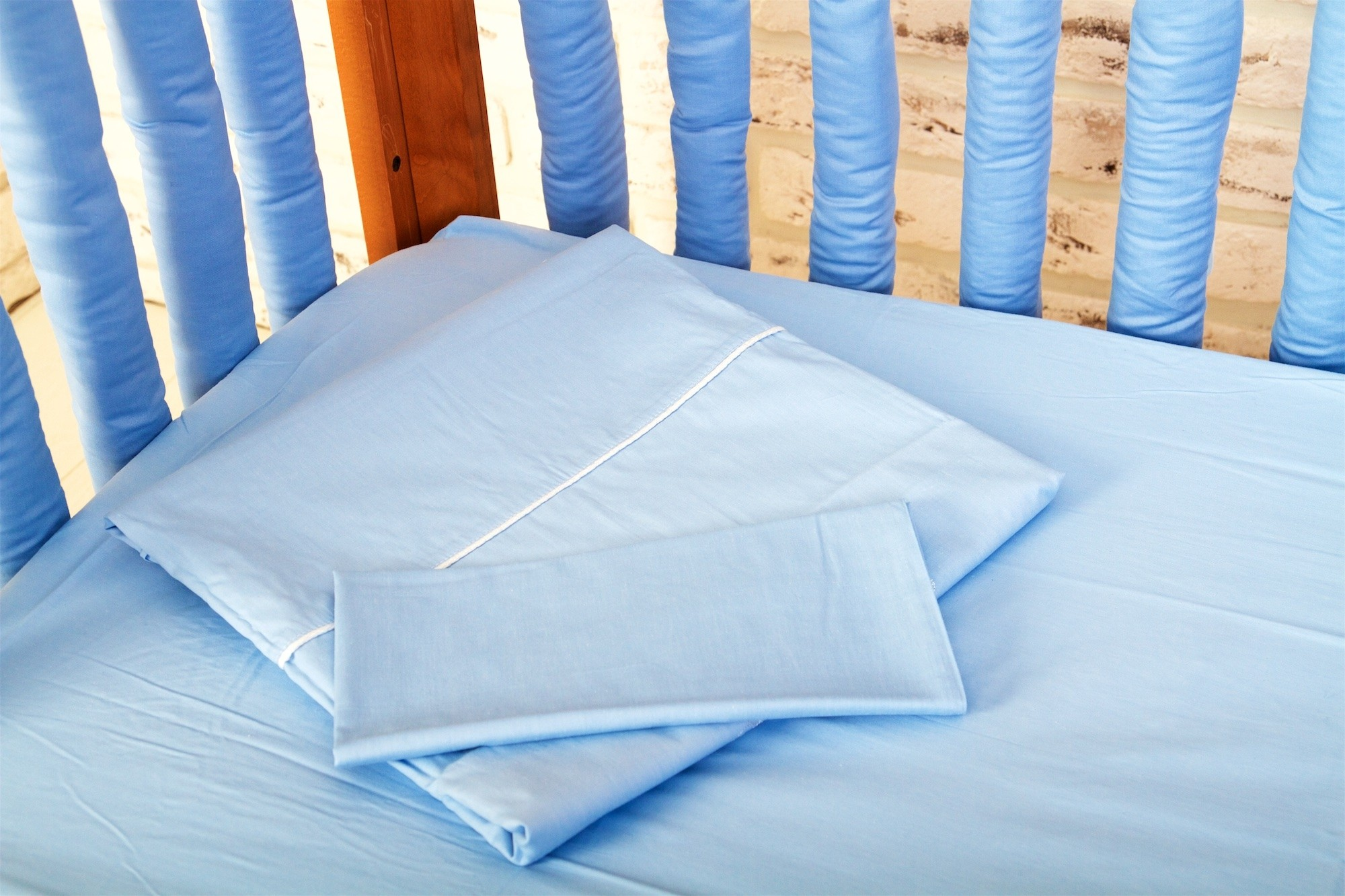 Комплект постельного белья Cloud factory Plain Blue