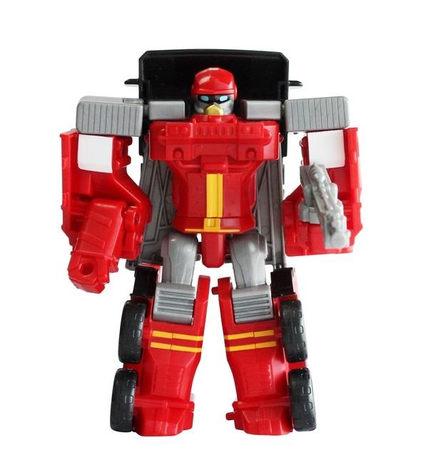робот-трансформер Tobot Атлон Вулкан мини S2 красный