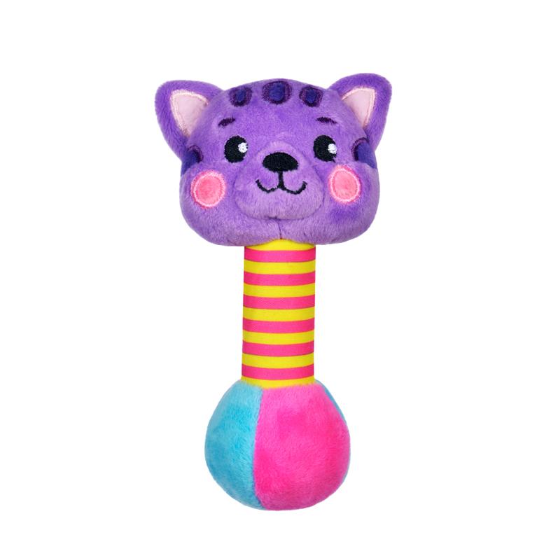 Погремушки Жирафики Котик со звуком подвесные игрушки roxy тигренок гигл со звуком