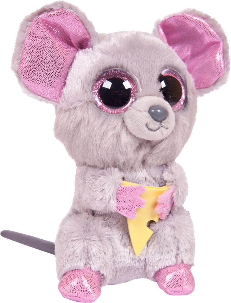цена на Мягкая игрушка TY Beanie Boo's Мышонок Squeaker 15 см