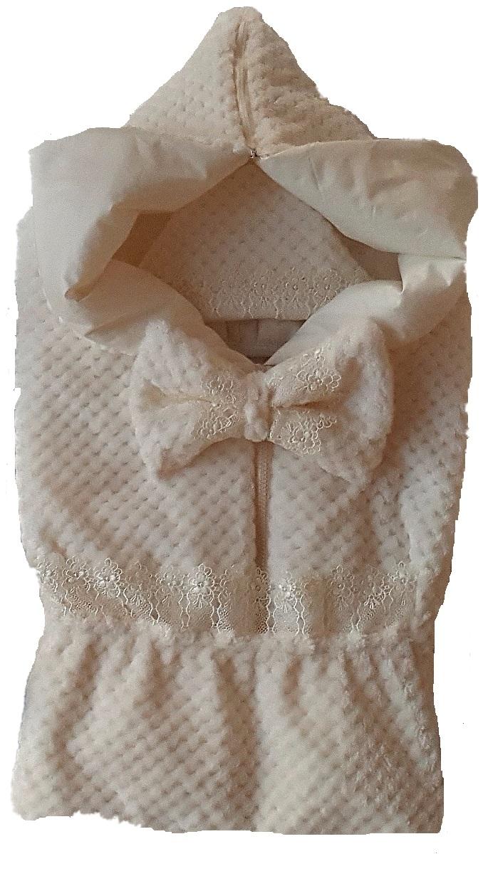 Комплекты на выписку Ангел наш Комплект на выписку Ангел Наш из 5-и предметов, бежевый комплекты детской одежды клякса комплект 5 предметов 53 5228
