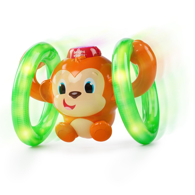 Обучающие BRIGHT STARTS Обезьянка на кольцах b dot обезьянка