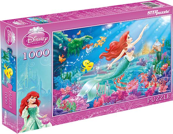 Пазлы Step Puzzle Пазл Step Puzzle «Disney» 1000 эл. в асс. цена 2017