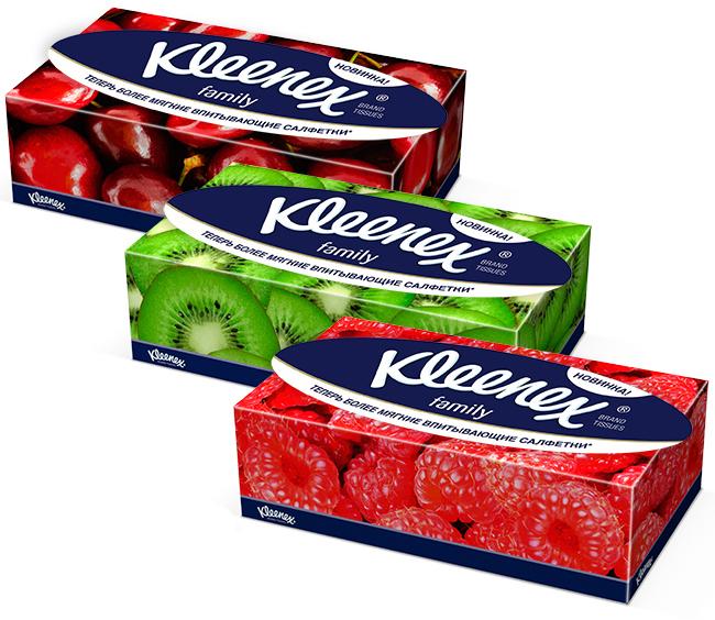 купить Салфетки Kleenex Family 150 шт. недорого