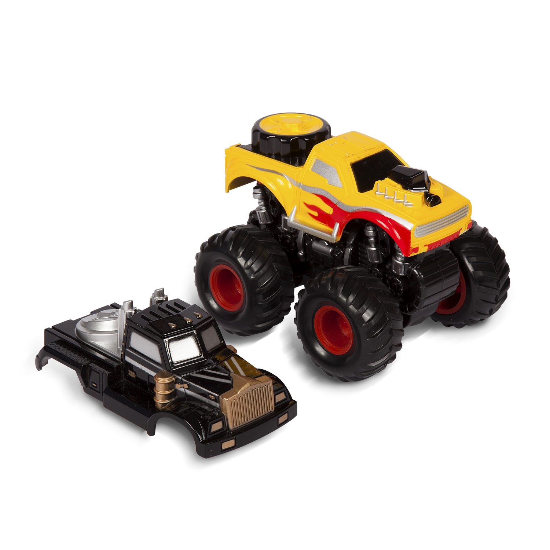Машинка Handers Бигфут х2: Патрульный handers машинка handers строительная техника автокран