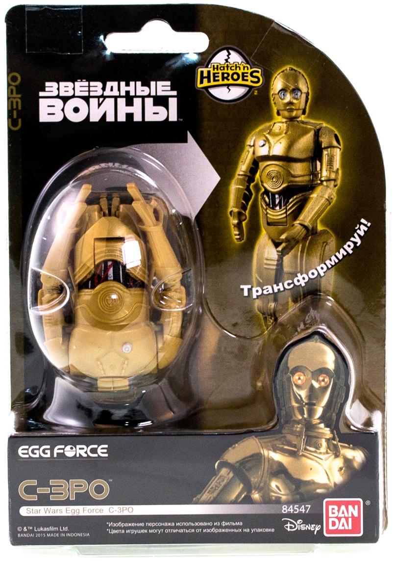 Яйцо-трансформер Bandai Star Wars игровые фигурки eggstars яйцо трансформер трицератопс