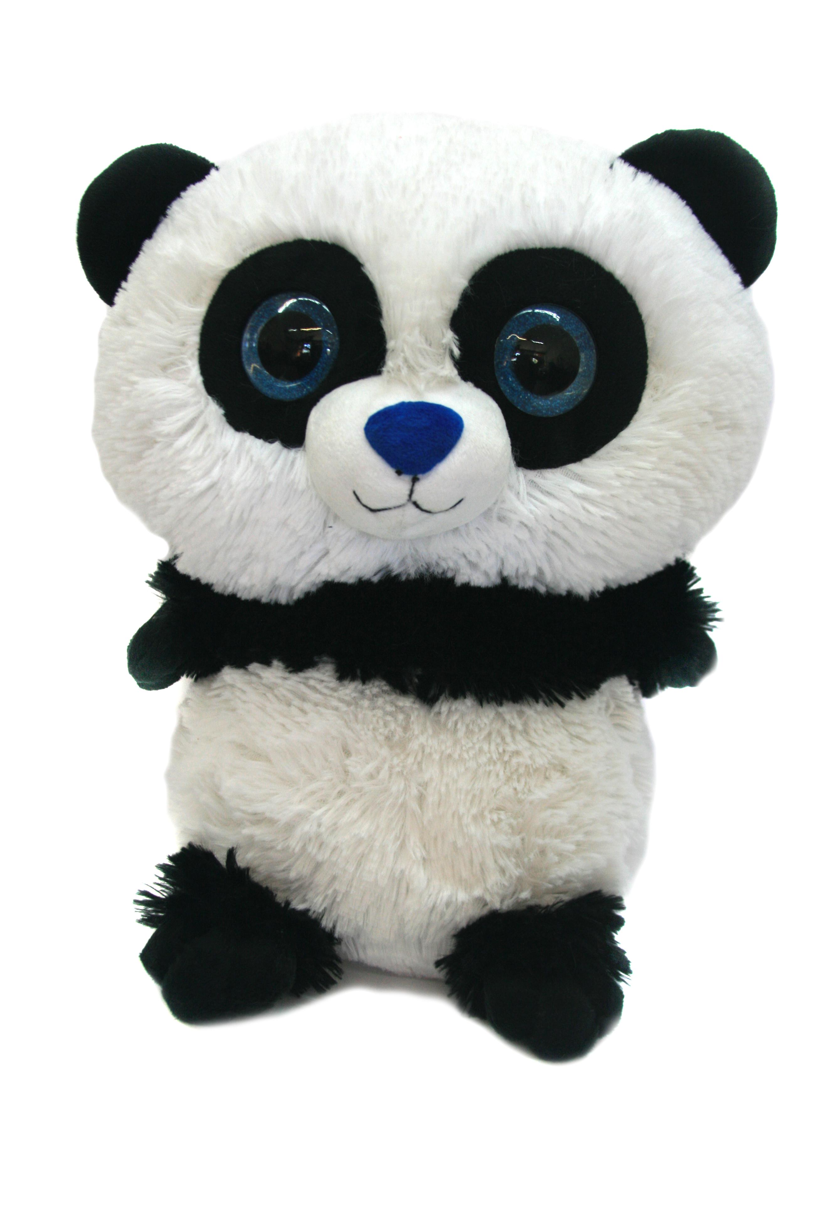 Мягкие игрушки СмолТойс Мягкая игрушка СмолТойс «Панда глазастик» 35 см мягкая игрушка смолтойс зайка радужный 51 см