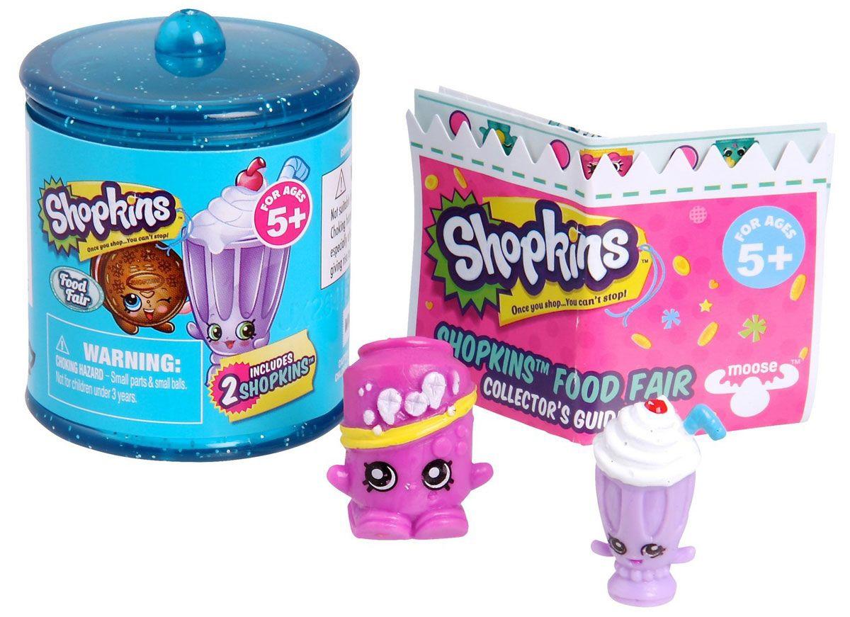 Shopkins Shopkins Shopkins Гастрономия (в бочонке) 2 шт. игровой набор shopkins 2 героя в корзиночке
