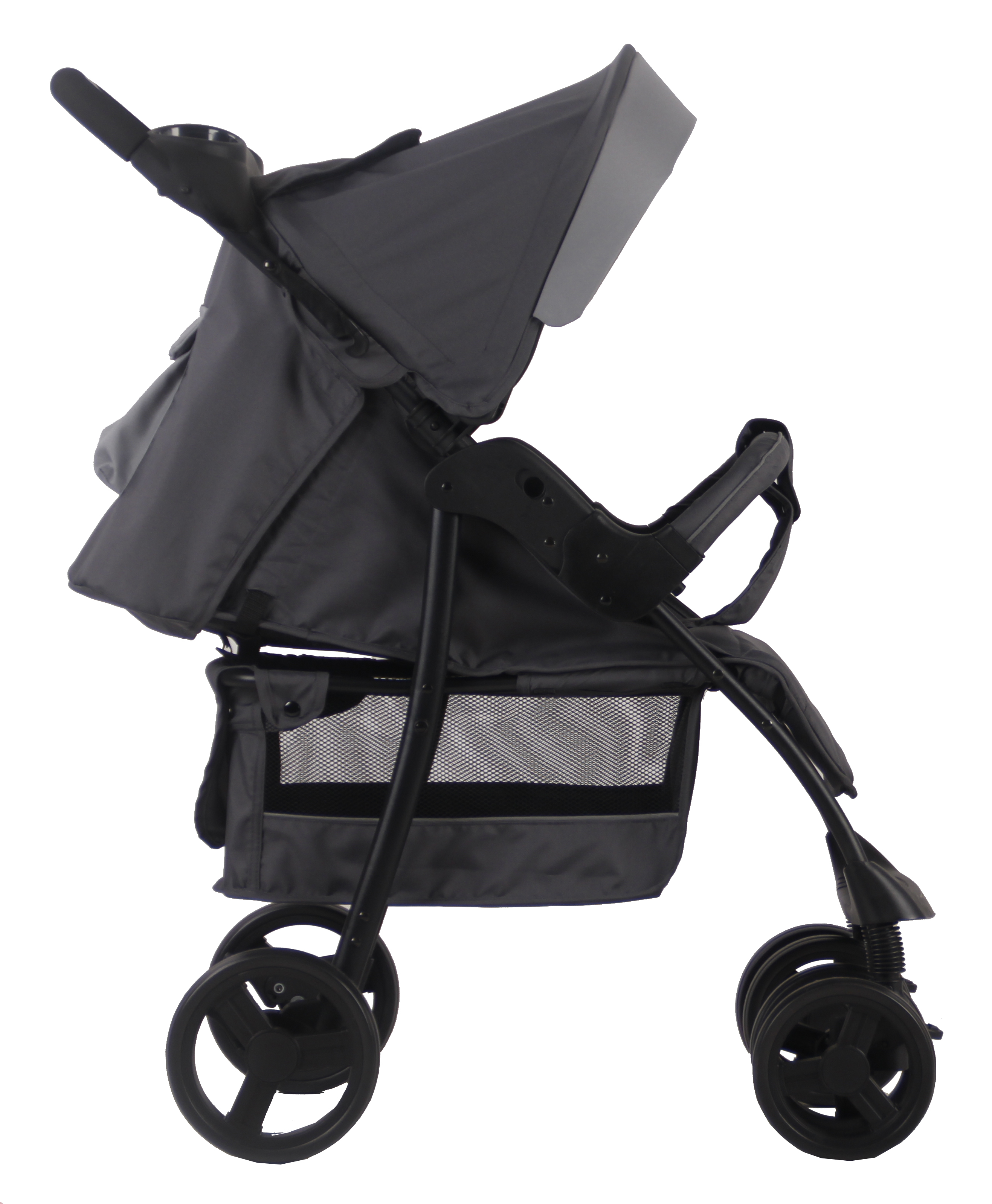 Прогулочная коляска Parusok Jogger Pro серый