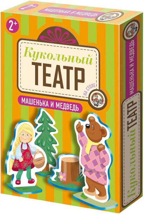Развивающие игрушки Десятое королевство Кукольный театр на столе Десятое королевство «Машенька и Медведь» цены