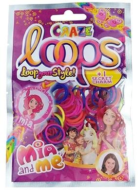 Украшения СRAZE LOOPS Набор для плетения браслетов Craze Loops «Mia and Me» наборы для плетения набор для плетения в органайзере весёлые пятнашки 292 rb