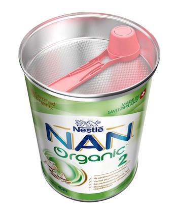 Молочная смесь NAN 2 Organic (с 6 месяцев) 400 г