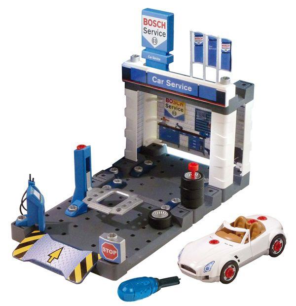 Игровой набор Klein Автосервис Bosch с машиной для сборки стоимость