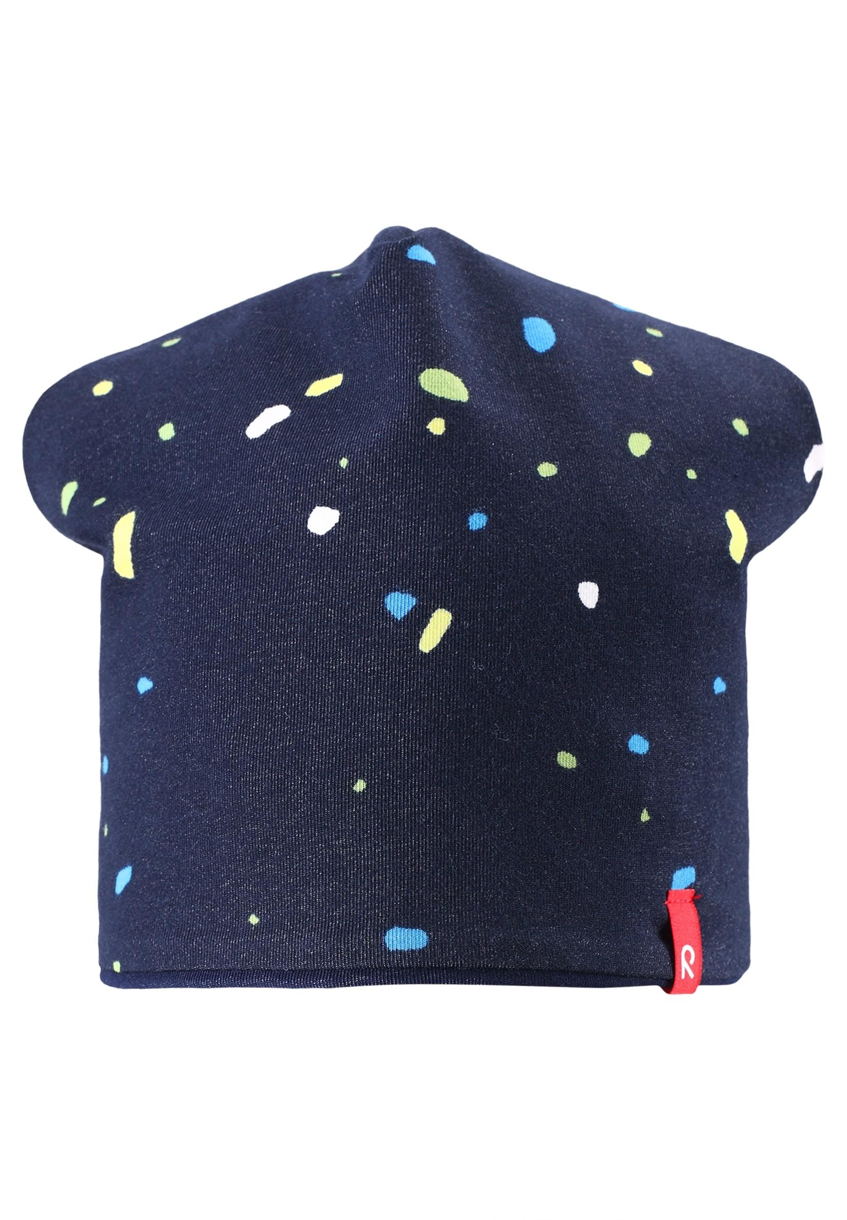 Головные уборы Reima Шапка Beanie, Frappe navy, синяя шапка obey ruger beanie brown