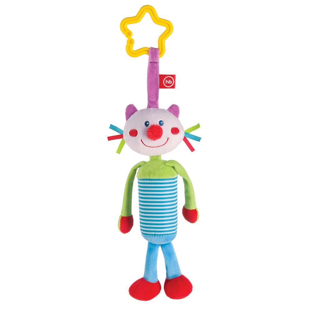 Подвеска Happy baby Perky Kitty happy baby развивающая игрушка колокольчик perky kitty happy baby