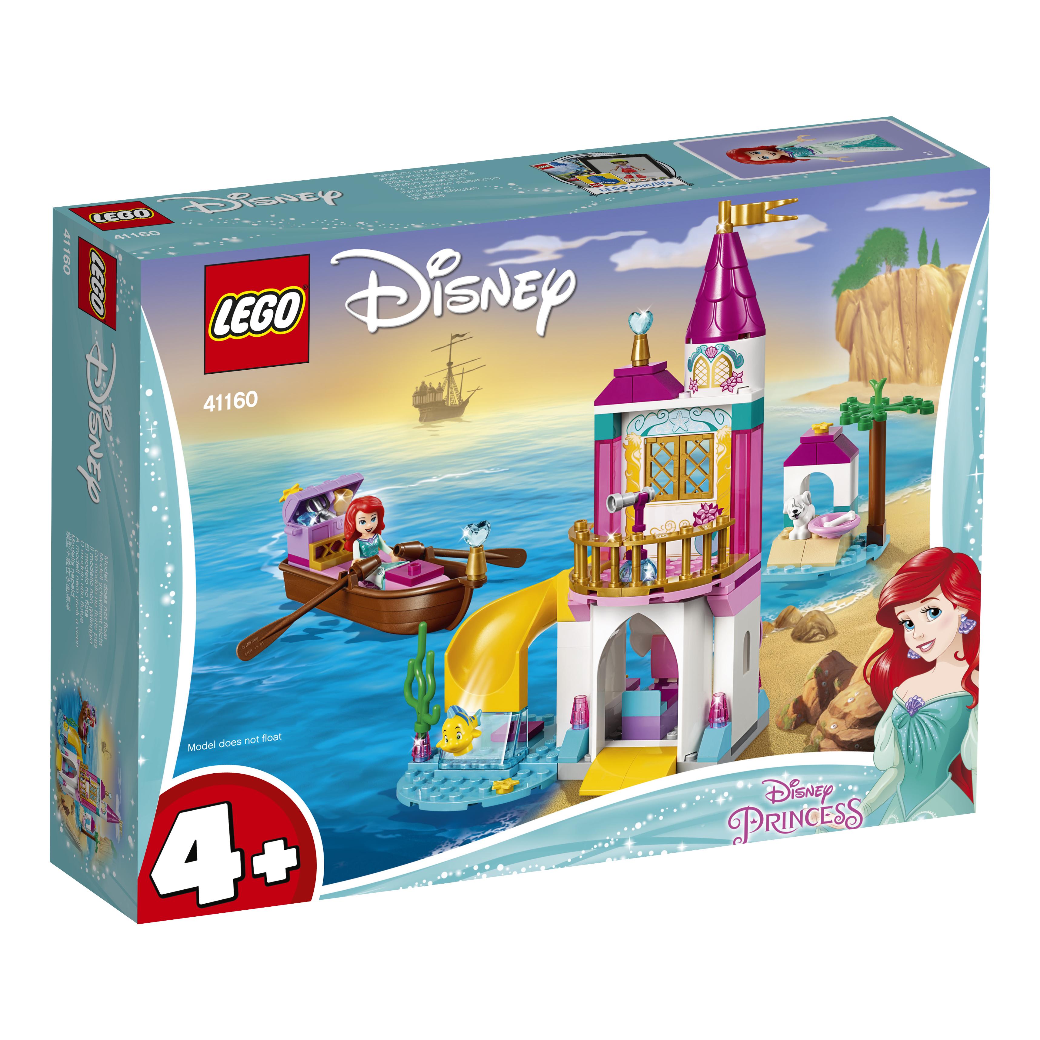 Конструктор LEGO Морской замок Ариэль конструктор lego disney princess 41154 волшебный замок золушки
