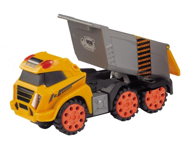 DICKIE Игровой набор Simba «Городская строительная техника» 13 см в асс. автотрек dickie simba 3083077 спайдер мэн