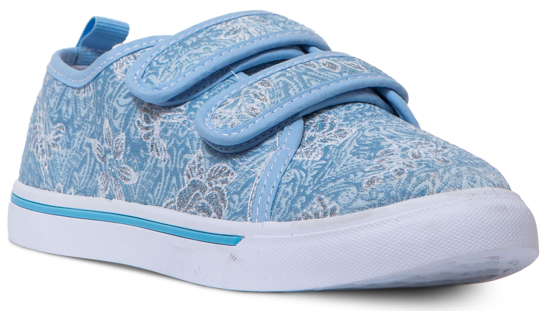 Полуботинки типа «кеды» для девочки Barkito Голубые голубые кроссовки нью баланс
