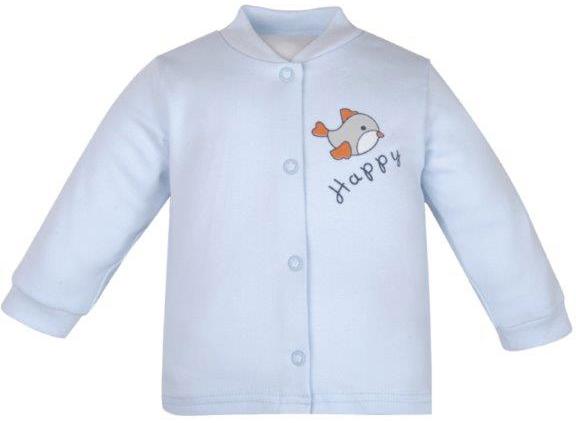 Первые вещи новорожденного Barkito Кофточка для мальчика Зайчонок Barkito голубой