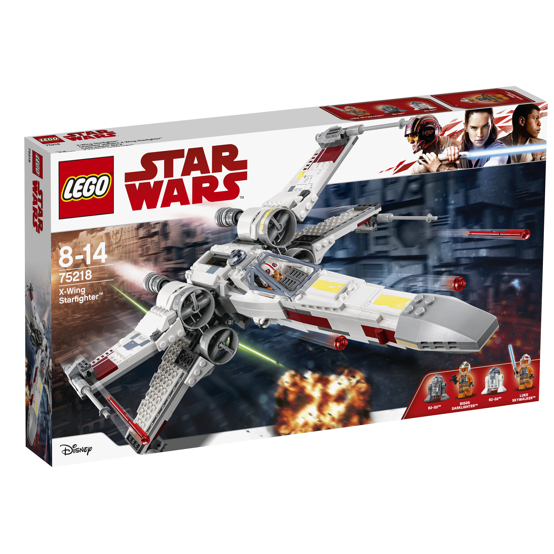 Конструктор LEGO LEGO Star Wars 75218 TM Звёздный истребитель типа Х конструктор lego star wars истребитель сопротивления типа икс 740 элементов 75149