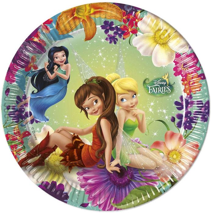 Одноразовые тарелки Procos Procos «Волшебные феи» посуда и скатерти procos самолеты 120x180 см