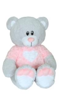 Мягкие игрушки СмолТойс Мягкая игрушка СмолТойс «Медвежонок Афоня» 66 см