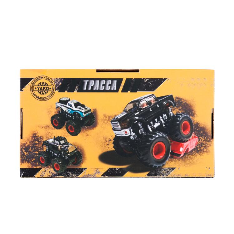 Инерционная игрушка Handers Большие колёса х2: патрульный