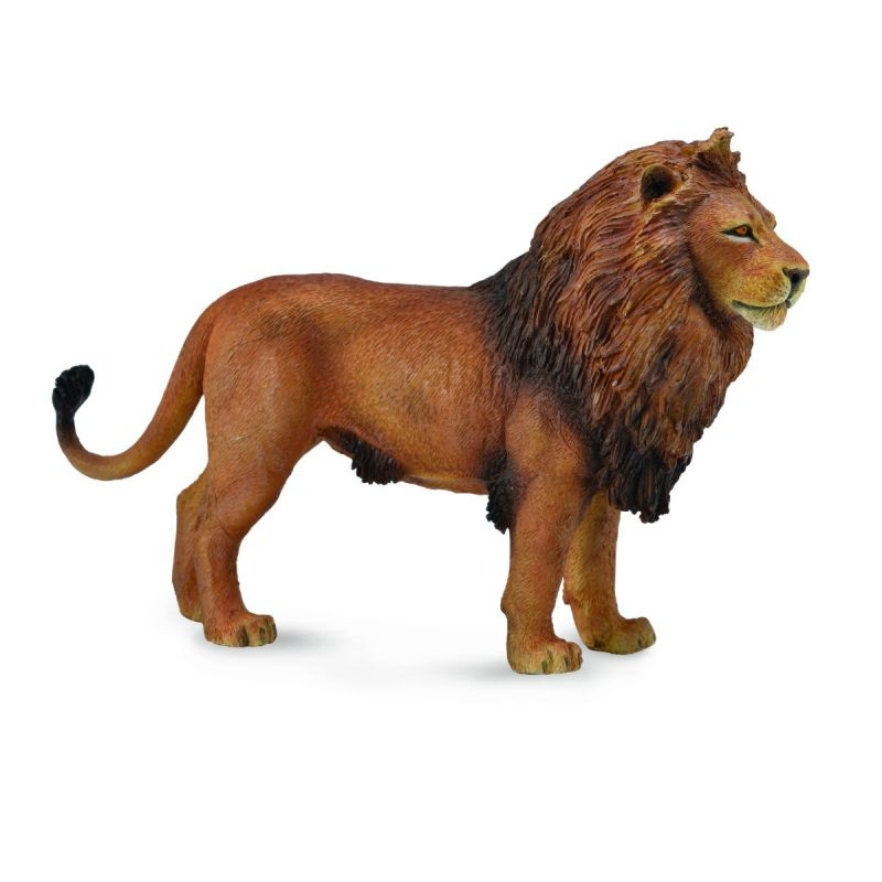 Фигурки животных Collecta Фигурка Collecta «Лев африканский» 5 см цены онлайн