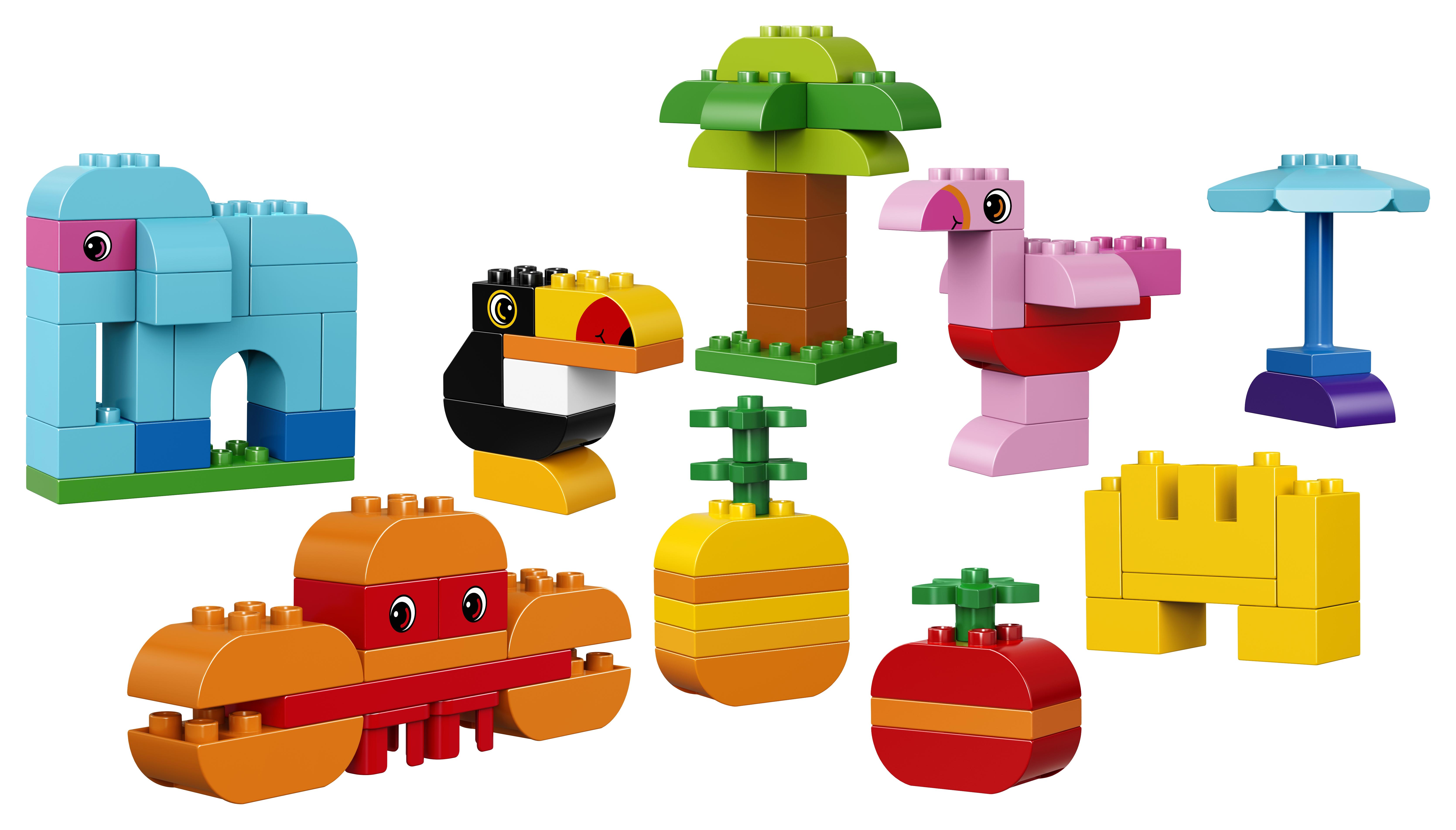 Купить Конструктор, Duplo My First 10853 Набор деталей для творческого конструирования, 1шт., LEGO 10853, Венгрия