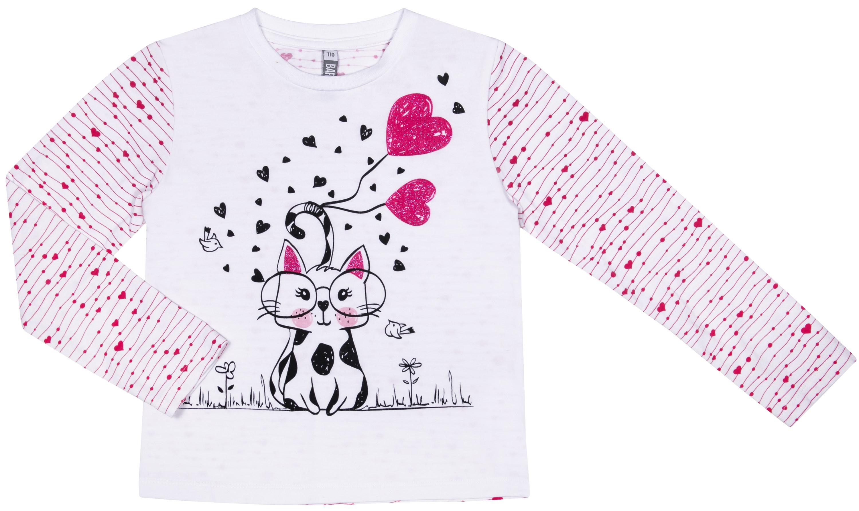 Футболки Barkito Мартовские коты S18G3023J футболка с длинным рукавом для девочки barkito мартовские коты белая