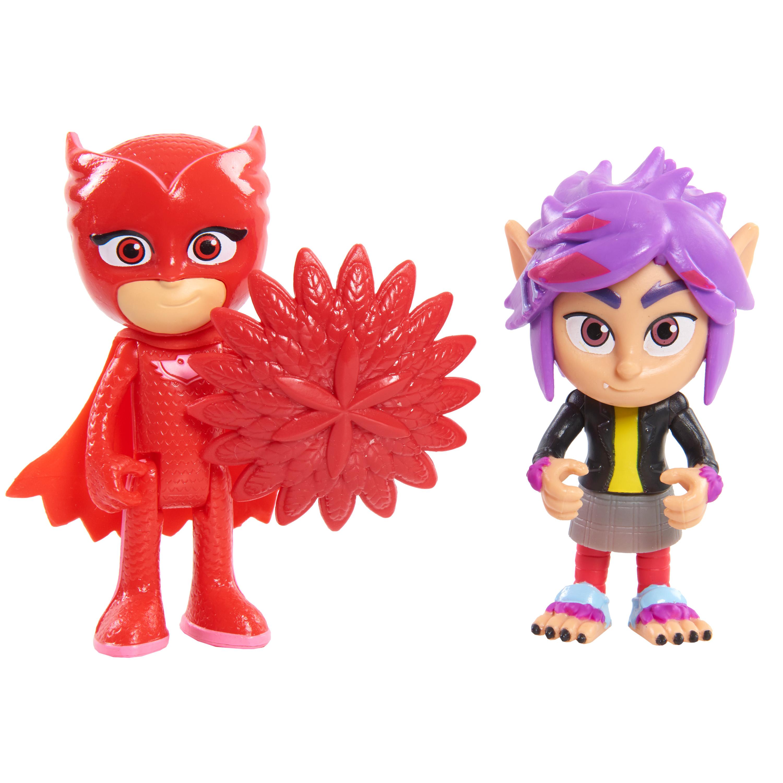 все цены на Игровой набор PJ Masks «Герои в масках. Алетт и Рип» 2 фигурки 8 см, 1шт. онлайн