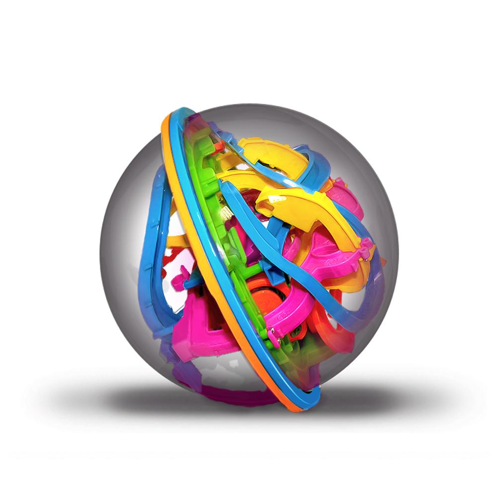 Головоломки Track ball 3D Шар-лабиринт 19 см цена 2017