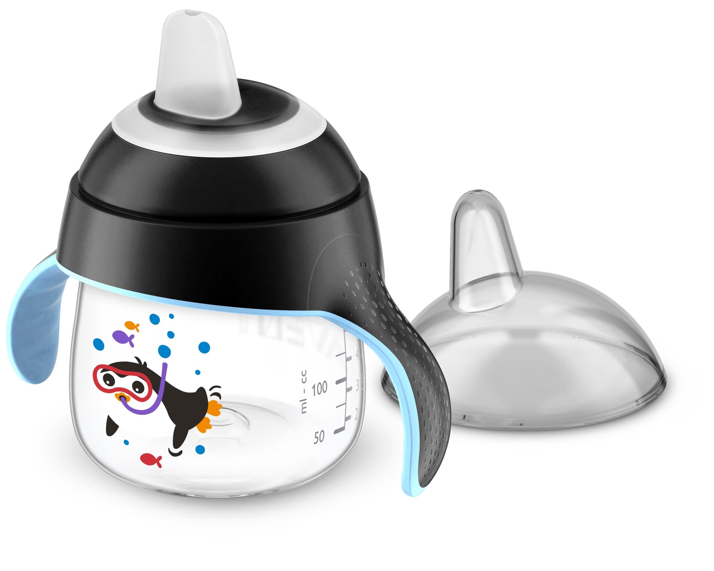 Купить Чашка-непроливайка, черный, 1шт., Philips AVENT SCF751_03, Индонезия, black
