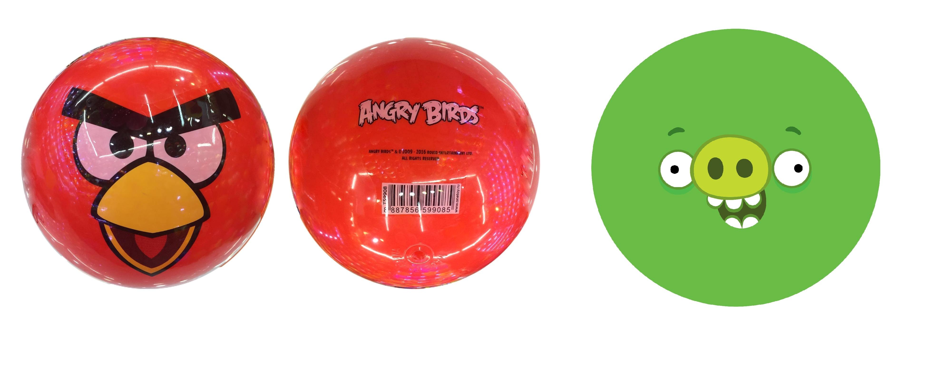 Мячи 1toy Angry Birds Т59908 шумелка angry birds с конфетами в ассортименте