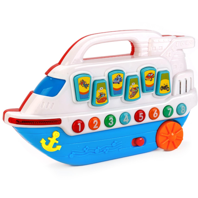 Купить Развивающие игрушки, Обучающий кораблик, Умка, Китай, Мультиколор