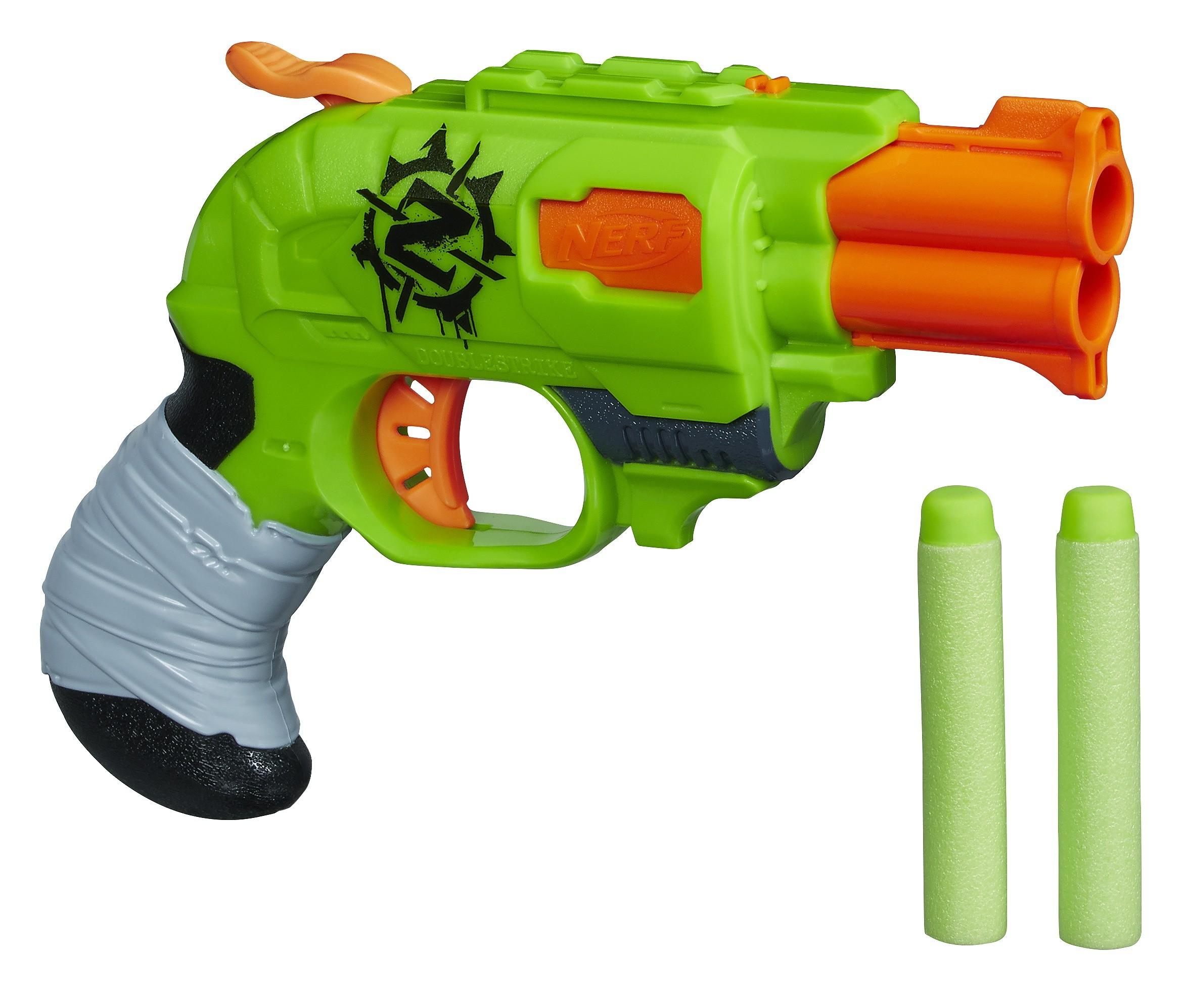 Игрушечное оружие и бластеры Hasbro Зомби Страйк Двойной Удар