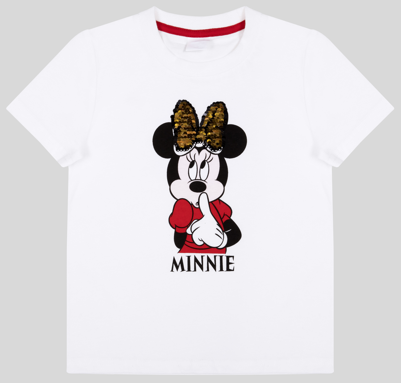 Фото - Футболка с коротким рукавом Barkito Minnie Mouse футболка с коротким рукавом для девочки trolls trsm 27133