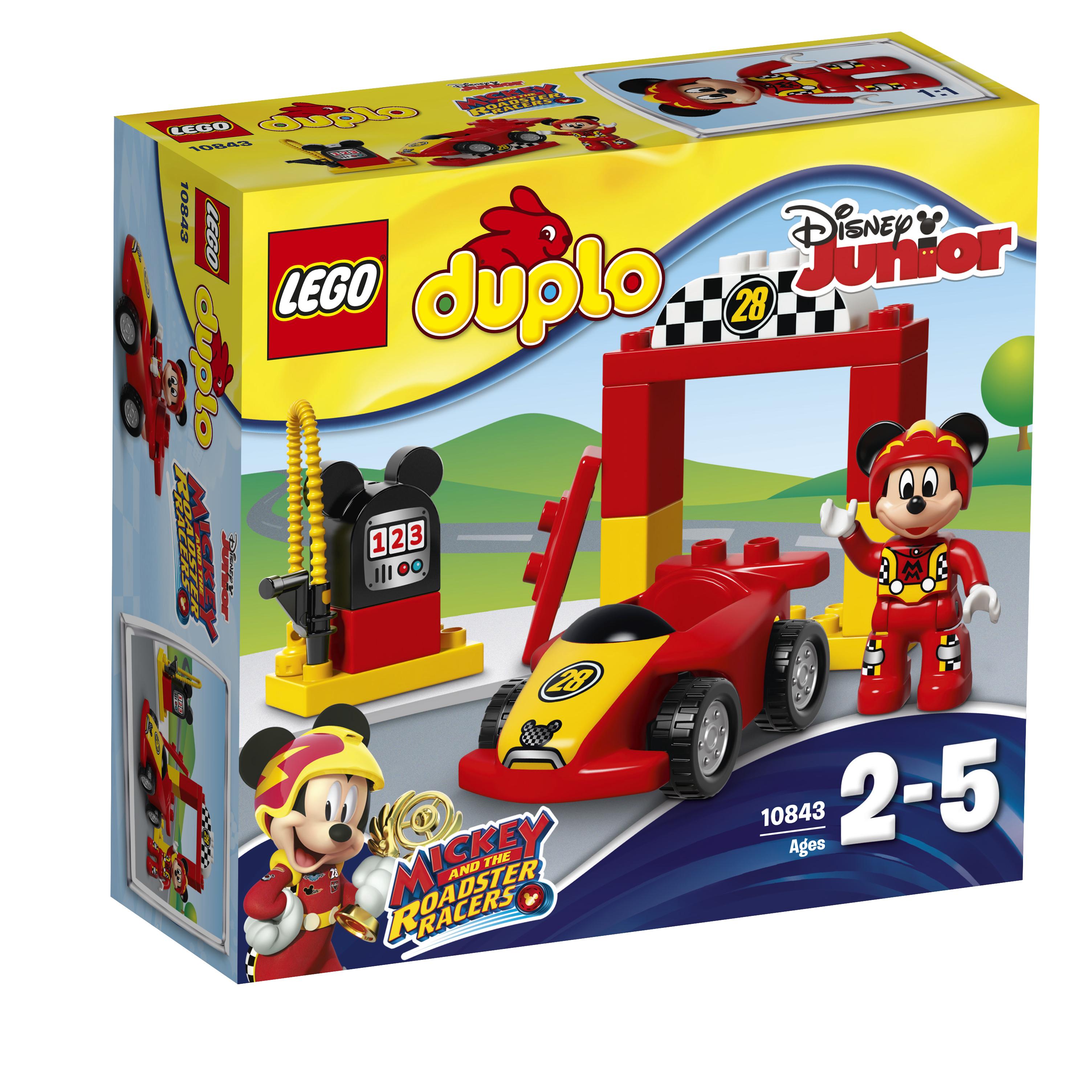 Конструктор LEGO Гоночная машина Микки