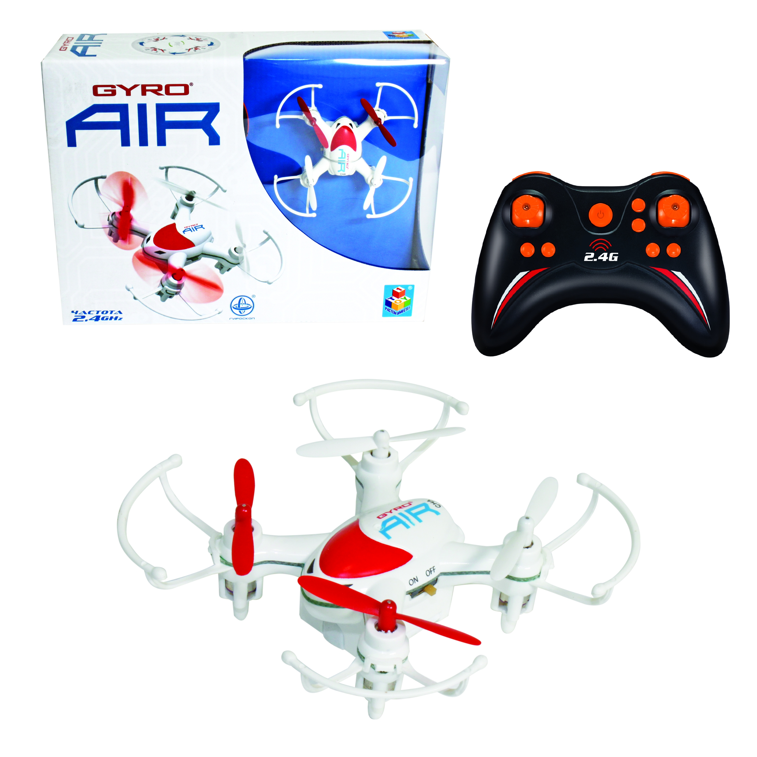 Квадрокоптеры 1toy GYRO-Air цена