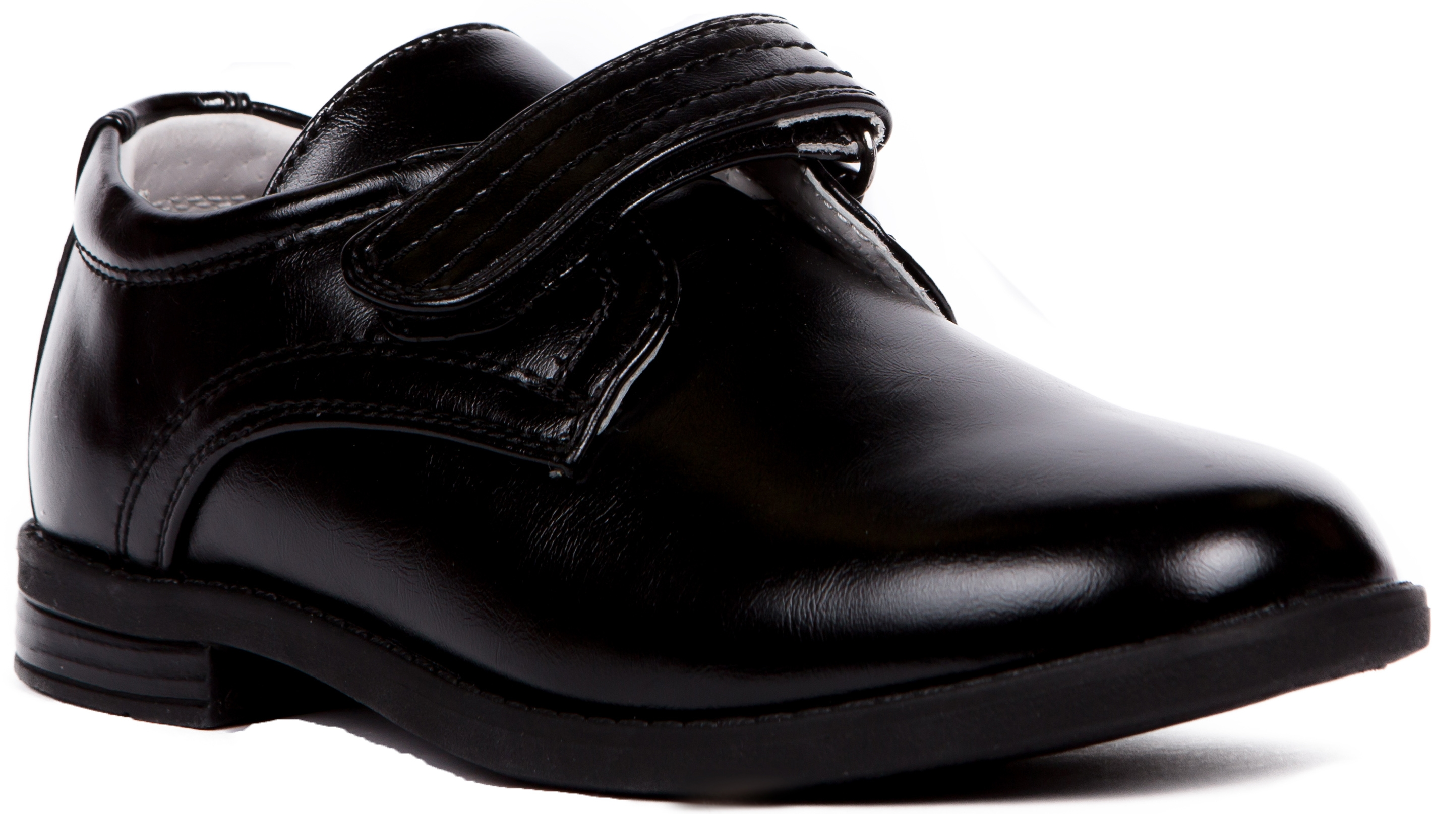 Ботинки и полуботинки Barkito Полуботинки для мальчика Barkito, черные ботинки для мальчика reima черные