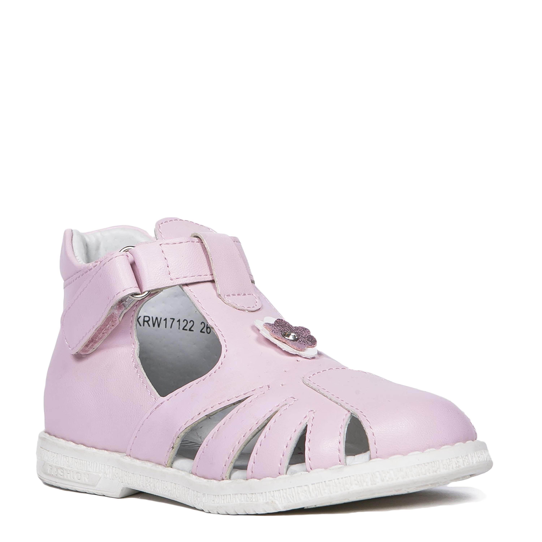 Босоножки Barkito Cандалеты для девочки Barkito, розовые цена и фото