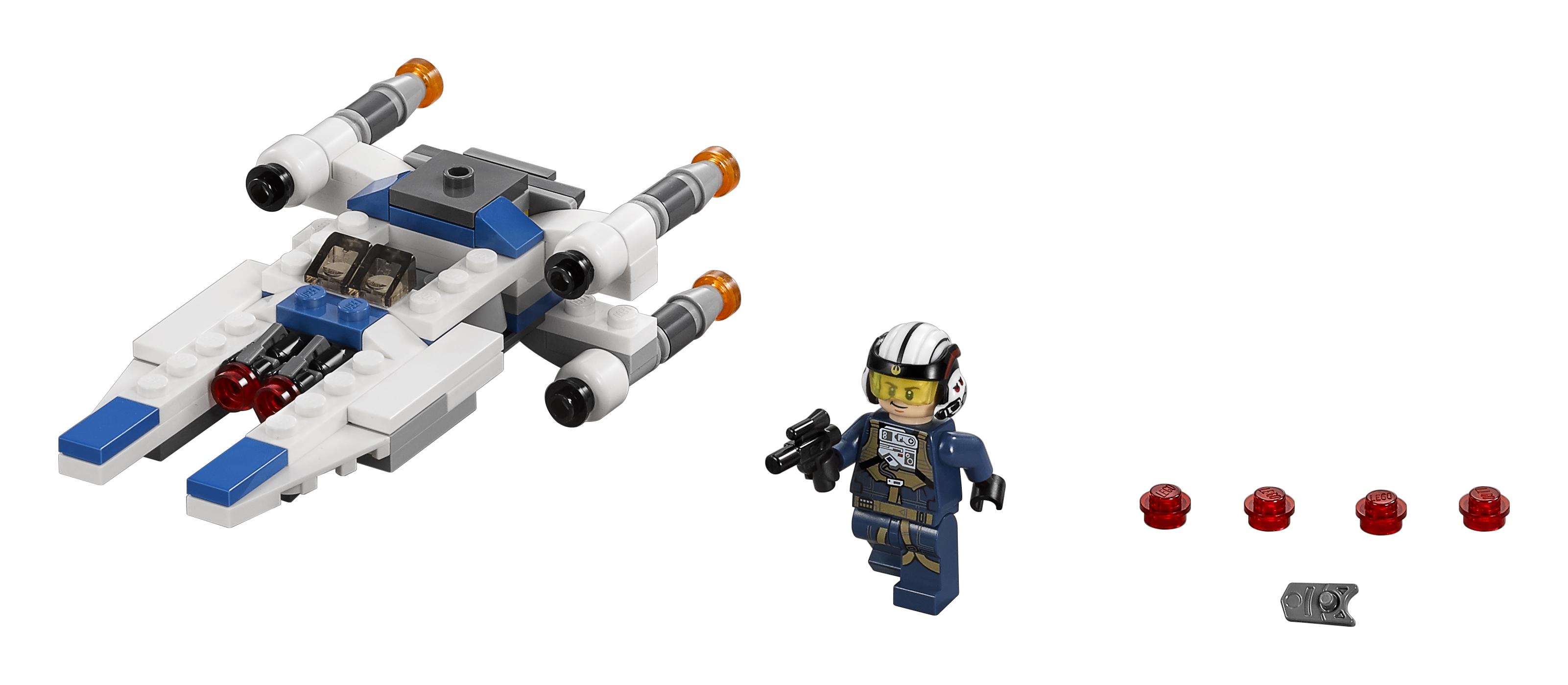 Конструктор LEGO Star Wars 75160 Микроистребитель типа U
