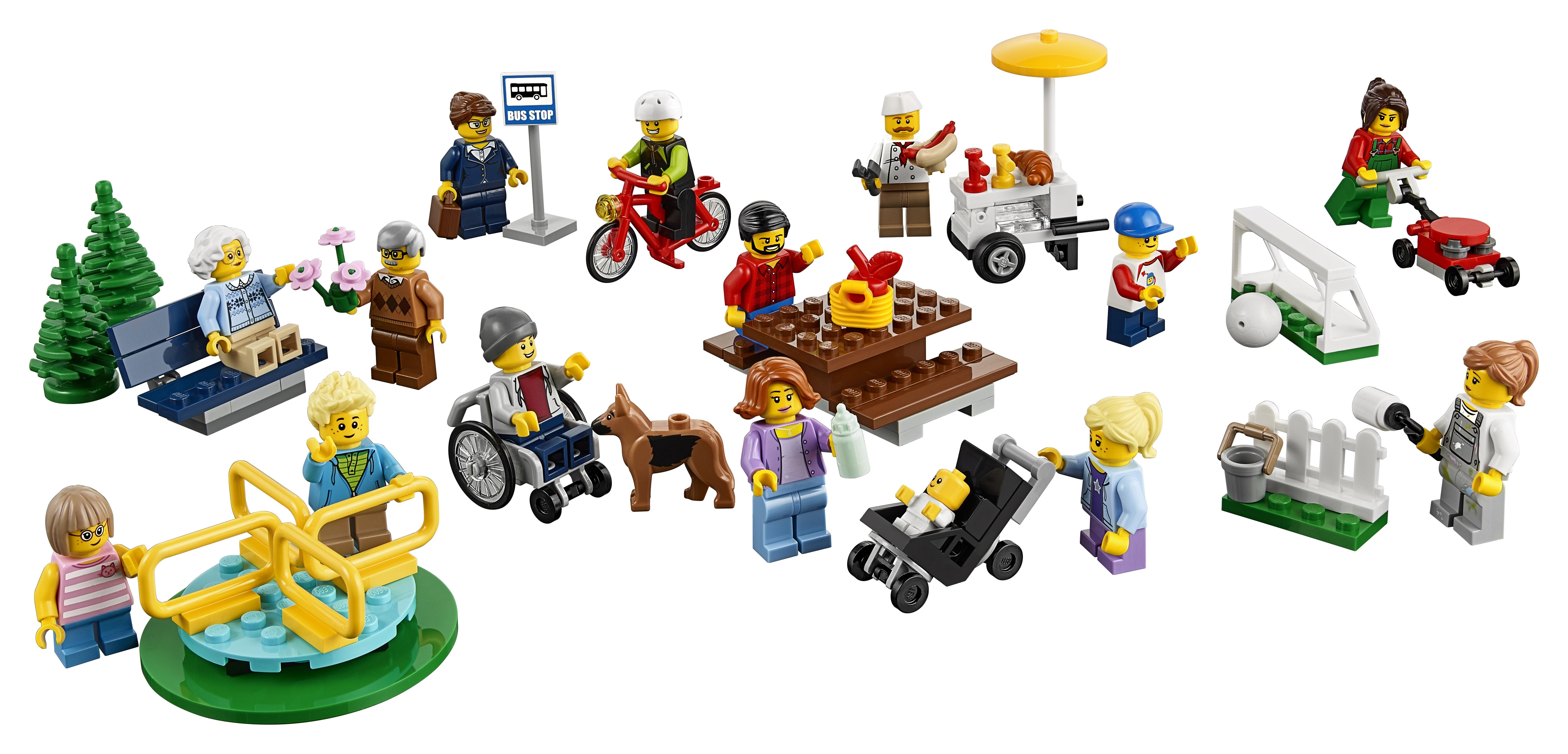 LEGO LEGO City Праздник в парке lego животные в парке 31044