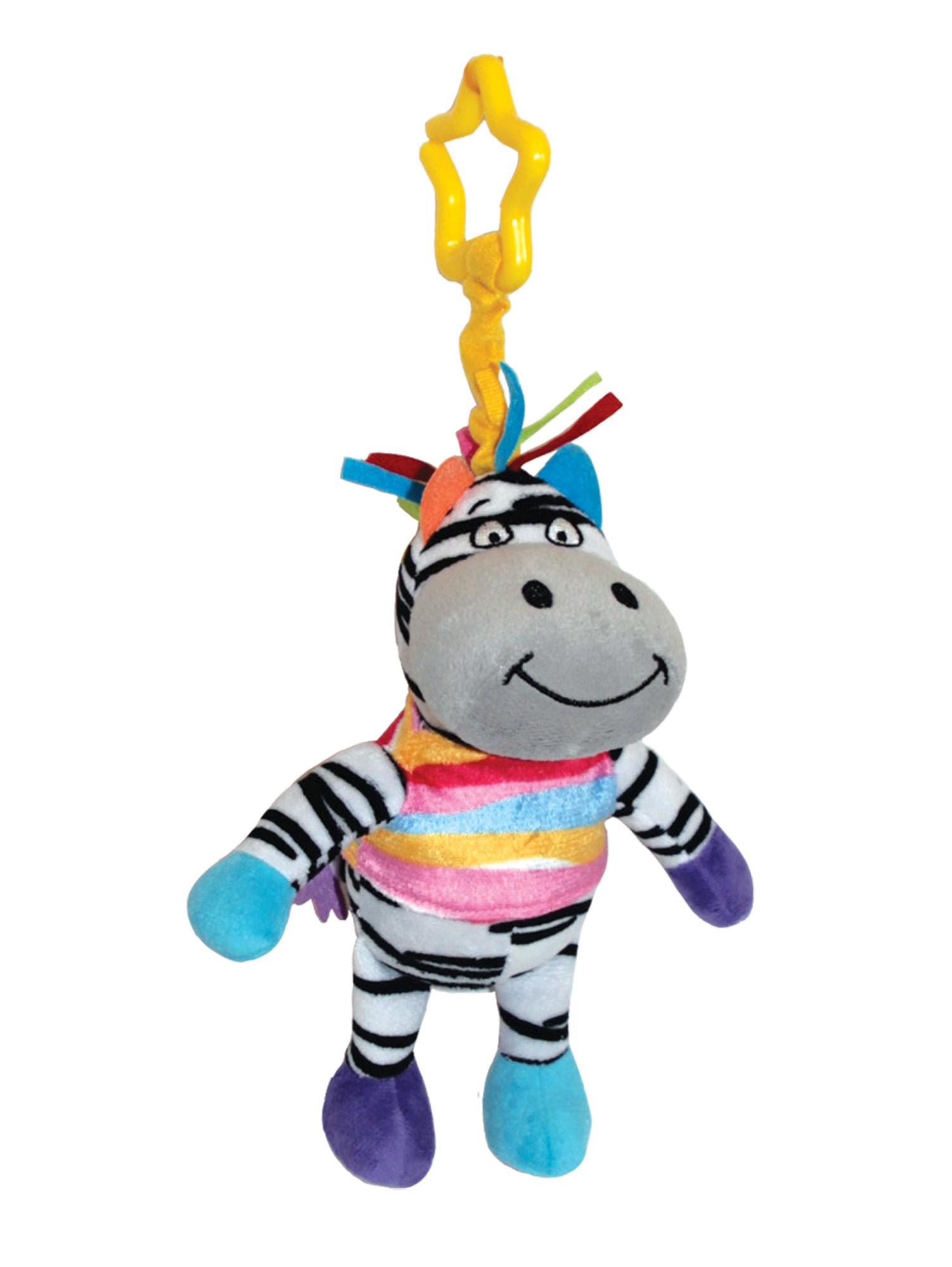 цены Подвесные игрушки и дуги Happy Snail Зебра Фру-Фру 14HS010PZ