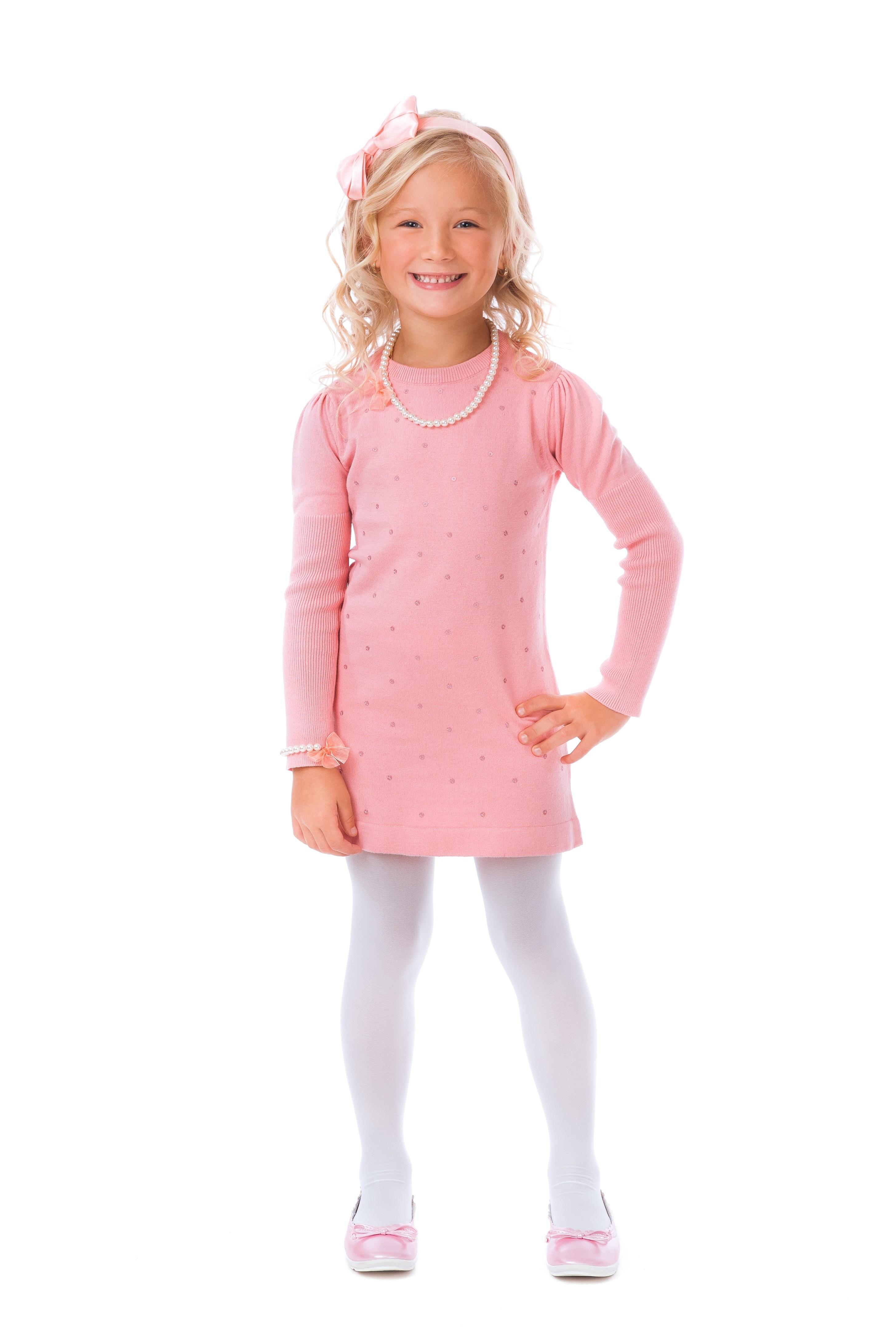 Платья и сарафаны Playtoday Платье для девочки Playtoday Розовое детские платья и сарафаны playtoday